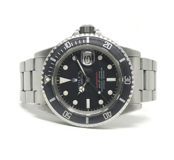 Rolex Submariner (RED) Kr. 125.000,-