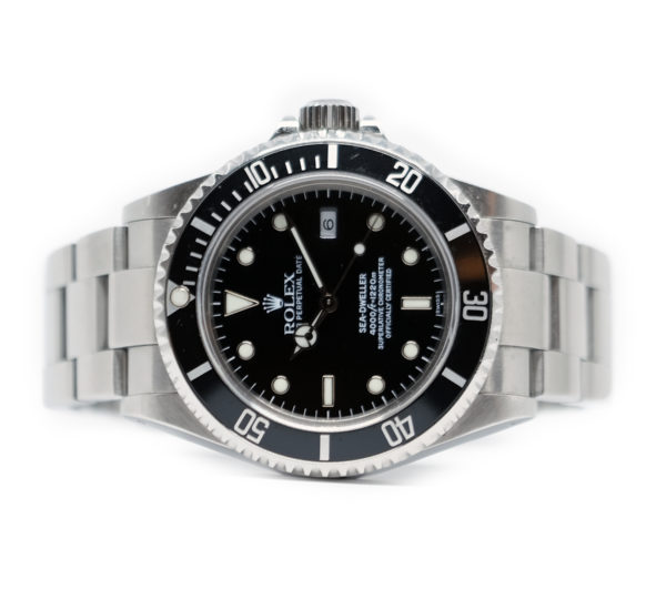"Rolex Sea-Dweller, ref. 16600 ""Swiss Only""Kr. 55.900,-"